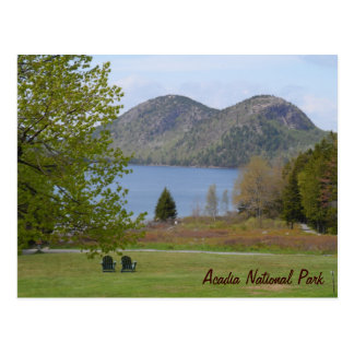 Jordan Pond, Acadia National Park Postcard
