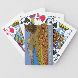 JORDAN POND BICYCLE PLAYING CARDS