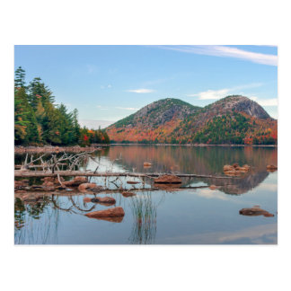 Jordan Pond of Acadia National Park Postcard