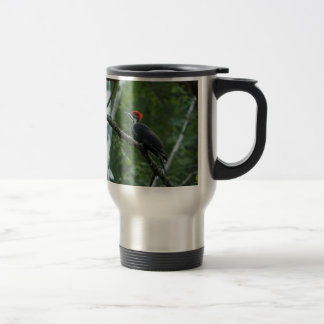 Jordan Pond Pileated Woodpecker. Travel Mug