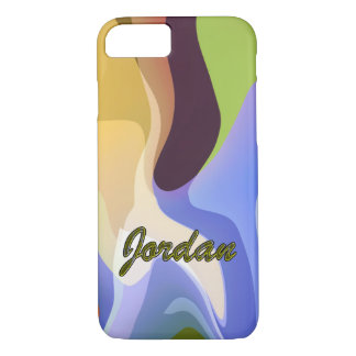 Jordan Stained Effect Style iPhone case