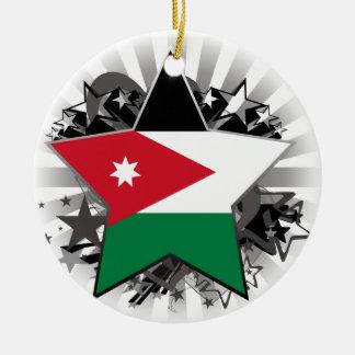 Jordan Star Round Ceramic Decoration