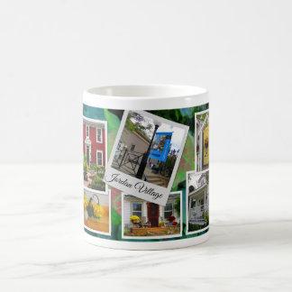 Jordan Village Photo Collage Coffee Mug