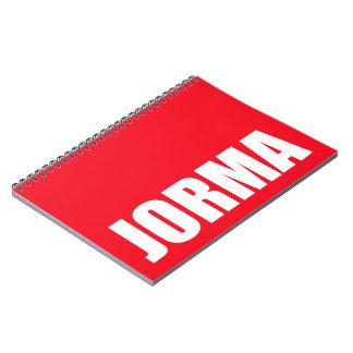 Jorma Notebooks