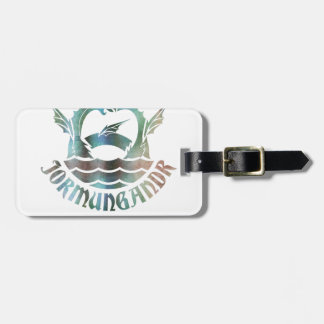 Jormungandr Luggage Tag