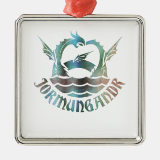Jormungandr Metal Ornament