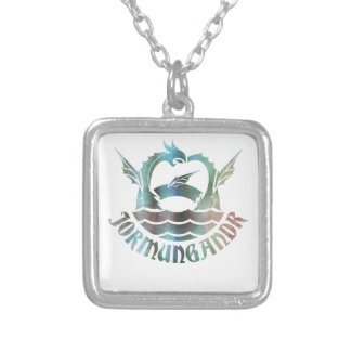 Jormungandr Silver Plated Necklace