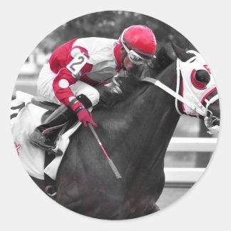 Jose Flores Round Sticker