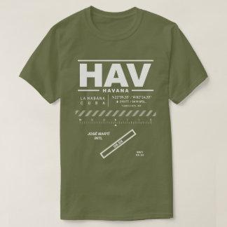 José Martí International Airport HAV T-Shirt