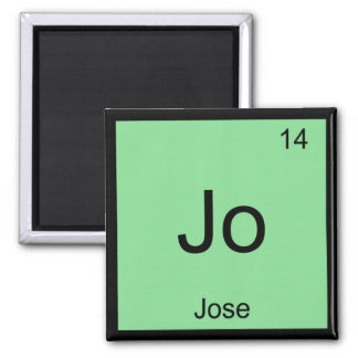 Jose  Name Chemistry Element Periodic Table Square Magnet