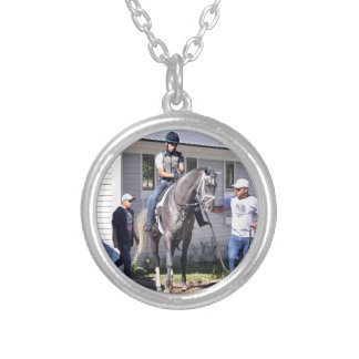 Jose Ortiz Silver Plated Necklace