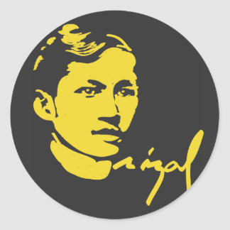 Jose Rizal sticker