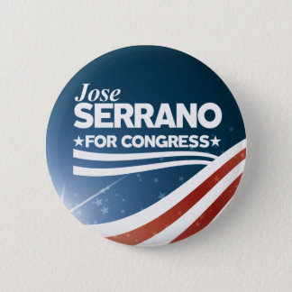 Jose Serrano 6 Cm Round Badge