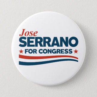 Jose Serrano 7.5 Cm Round Badge