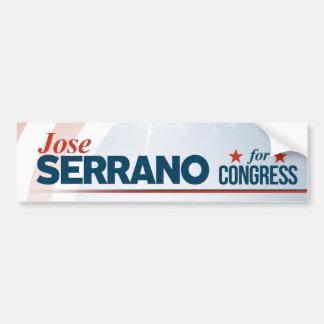 Jose Serrano Bumper Sticker
