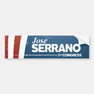 Jose Serrano Bumper Sticker