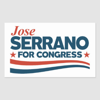 Jose Serrano Rectangular Sticker