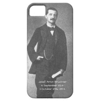 Josef Anton Bruckner 1854 iPhone 5 Case
