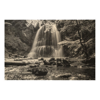 Josefsthaler waterfall wood wall art