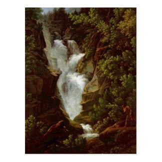 Joseph Anton Koch, Wasserfall, 1796 Postcard