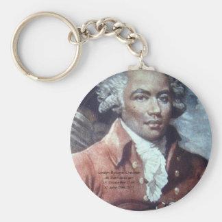 Joseph Bologne, Chevalier de Saint-Georges Key Ring