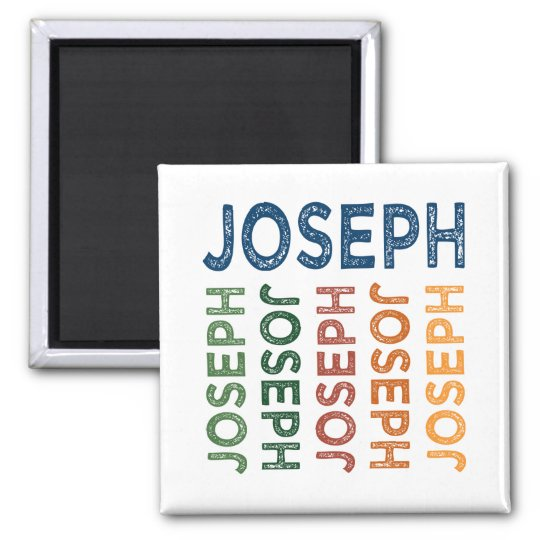 Joseph Cute Colourful Magnet