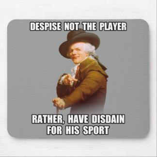 Joseph Ducreux Player Disdain Mouse Pad