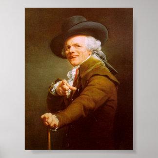 Joseph Ducreux Self Portrait Poster