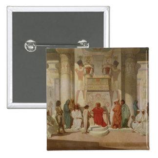 Joseph Explaining Pharaoh's Dreams 15 Cm Square Badge