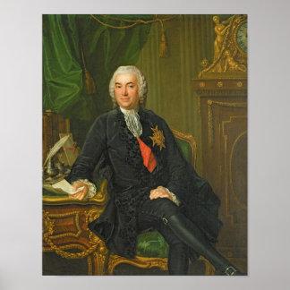 Joseph-Francois Foulon  after 1760 Poster