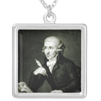 Joseph Haydn  c.1770 Silver Plated Necklace