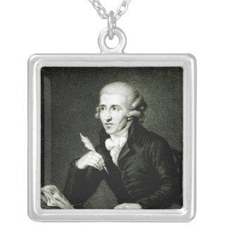 Joseph Haydn  c.1770 Square Pendant Necklace