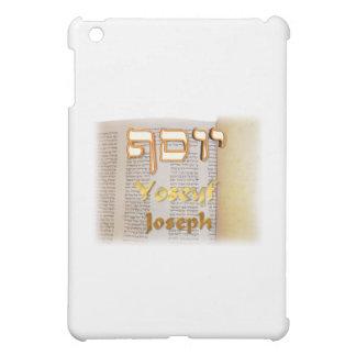Joseph in Hebrew iPad Mini Covers