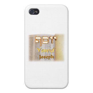 Joseph in Hebrew iPhone 4/4S Cases