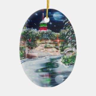 Joseph-Jubilate in Lights-San Antonio Ceramic Oval Decoration
