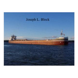 Joseph L. Block postcard