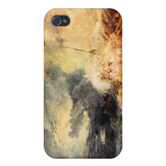 Joseph Mallord Turner - Fire at sea iPhone 4/4S Cases