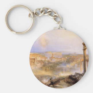 Joseph Mallord Turner - Modern Rome Camp Vaccino Key Chains