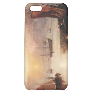 Joseph Mallord Turner - Rising sun in the haze whi Case For iPhone 5C