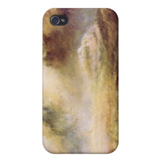 Joseph Mallord Turner - Rough Seas with wreckage iPhone 4/4S Covers