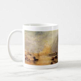 Joseph Mallord Turner - St Michaels Mount Cornwall Basic White Mug