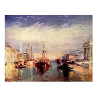 Joseph Mallord Turner - Venice from the porch of M Postcard