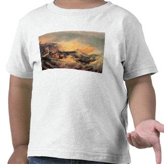 Joseph Mallord Turner - Wreck of a transport ship T-shirts