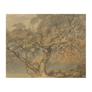 Joseph Mallord William Turner - A Great Tree Wood Print