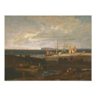 Joseph Mallord William Turner - A Scene on the Photographic Print