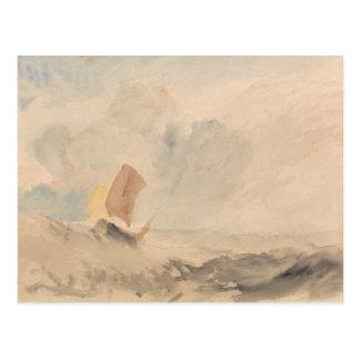 Joseph Mallord William Turner - A Sea Piece Postcard