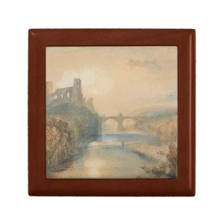 Joseph Mallord William Turner - Barnard Castle Small Square Gift Box