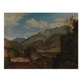 Joseph Mallord William Turner - Chateau de St. Postcard