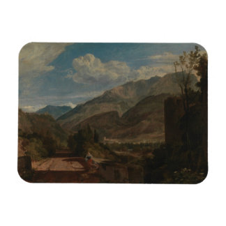 Joseph Mallord William Turner - Chateau de St. Rectangular Photo Magnet
