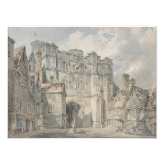 Joseph Mallord William Turner - Christ Church Gate Photograph